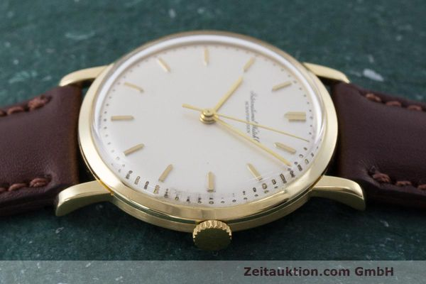 Used luxury watch IWC Portofino 18 ct gold manual winding Kal. 402 Ref. 1405 VINTAGE  | 162401 05
