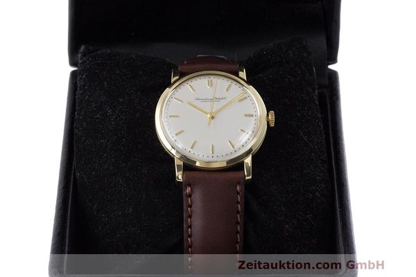 Used luxury watch IWC Portofino 18 ct gold manual winding Kal. 402 Ref. 1405 VINTAGE  | 162401 07