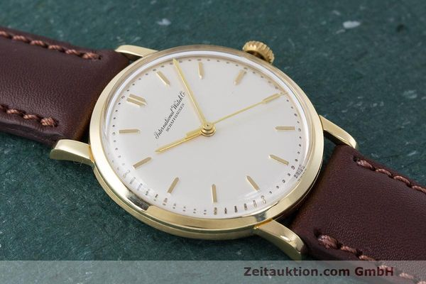 Used luxury watch IWC Portofino 18 ct gold manual winding Kal. 402 Ref. 1405 VINTAGE  | 162401 11