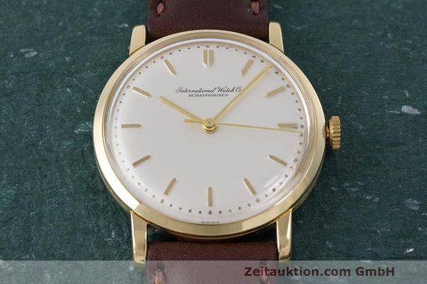 Used luxury watch IWC Portofino 18 ct gold manual winding Kal. 402 Ref. 1405 VINTAGE  | 162401 12