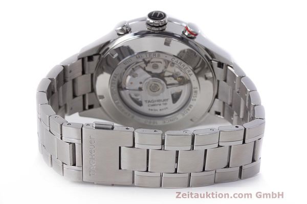 Used luxury watch Tag Heuer Carrera chronograph steel automatic Kal. 16 ETA 7750 Ref. CV2A10  | 162404 12