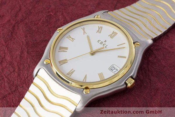 Used luxury watch Ebel Classic Wave steel / gold quartz Kal. 187-1 Ref. 1187141  | 162408 01
