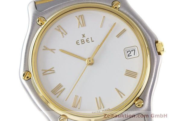 Used luxury watch Ebel Classic Wave steel / gold quartz Kal. 187-1 Ref. 1187141  | 162408 02
