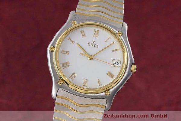 EBEL CLASSIC WAVE HERRENUHR GOLD / STAHL CLASSICWAVE MEDIUM VP: 2470,- EURO [162408]