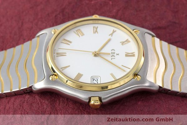 Used luxury watch Ebel Classic Wave steel / gold quartz Kal. 187-1 Ref. 1187141  | 162408 05