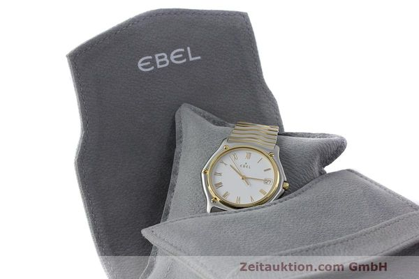Used luxury watch Ebel Classic Wave steel / gold quartz Kal. 187-1 Ref. 1187141  | 162408 07