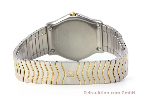 Used luxury watch Ebel Classic Wave steel / gold quartz Kal. 187-1 Ref. 1187141  | 162408 11