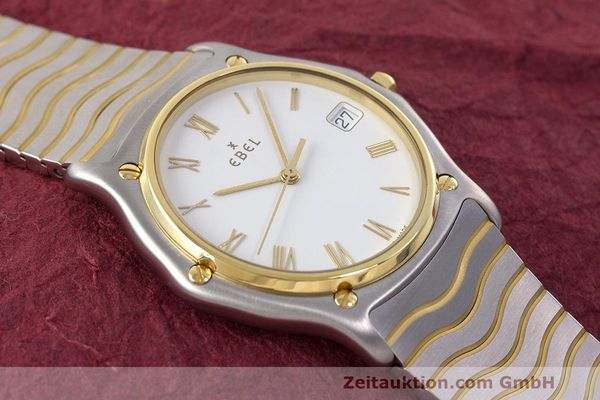 Used luxury watch Ebel Classic Wave steel / gold quartz Kal. 187-1 Ref. 1187141  | 162408 15