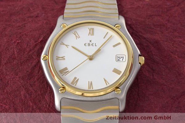 Used luxury watch Ebel Classic Wave steel / gold quartz Kal. 187-1 Ref. 1187141  | 162408 16