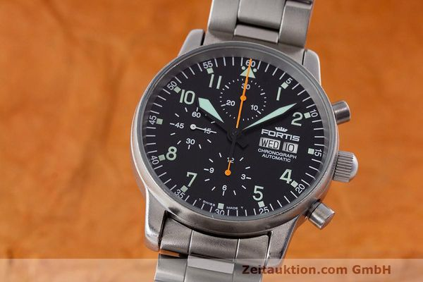 FORTIS FLIEGER CHRONOGRAPH CHRONOGRAPH STEEL AUTOMATIC KAL. ETA 7750 [162417]