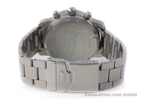 Used luxury watch Fortis Flieger Chronograph chronograph steel automatic Kal. ETA 7750 Ref. 597.10.141  | 162417 12