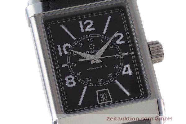 Used luxury watch Eterna 1935 steel automatic Kal. ETA 2824-2 Ref. 8492.41  | 162423 02