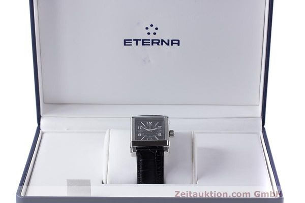 Used luxury watch Eterna 1935 steel automatic Kal. ETA 2824-2 Ref. 8492.41  | 162423 07