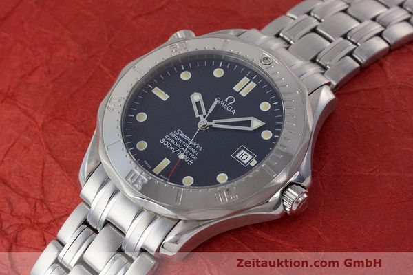 Used luxury watch Omega Seamaster steel automatic Kal. 1109 ETA 2892A2  | 162424 01