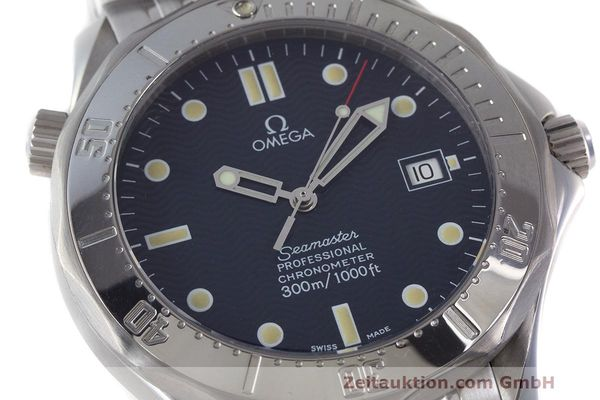 Used luxury watch Omega Seamaster steel automatic Kal. 1109 ETA 2892A2  | 162424 02