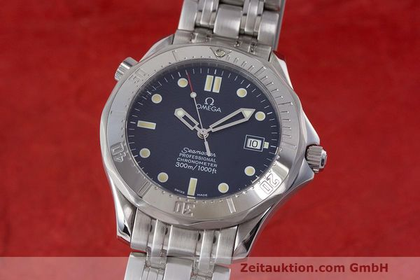 Used luxury watch Omega Seamaster steel automatic Kal. 1109 ETA 2892A2  | 162424 04