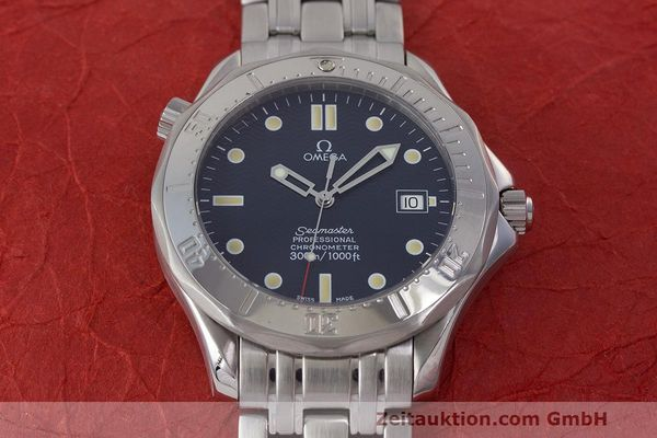 Used luxury watch Omega Seamaster steel automatic Kal. 1109 ETA 2892A2  | 162424 17