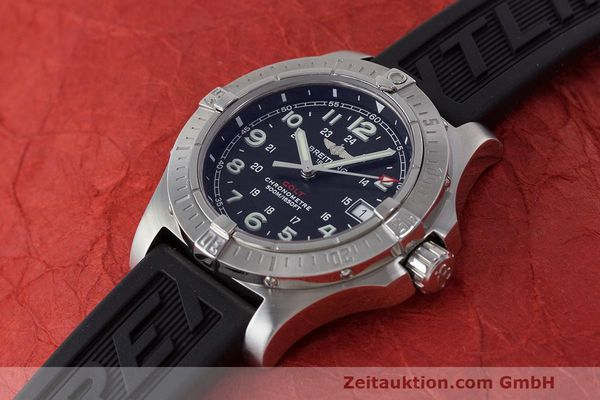 Used luxury watch Breitling Colt steel quartz Kal. B74 ETA 955.652 Ref. A74380  | 162426 01