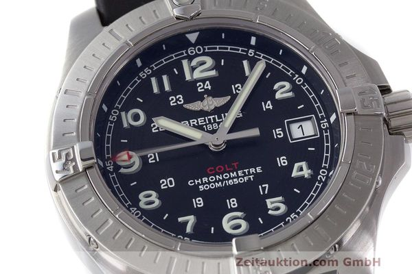 Used luxury watch Breitling Colt steel quartz Kal. B74 ETA 955.652 Ref. A74380  | 162426 02