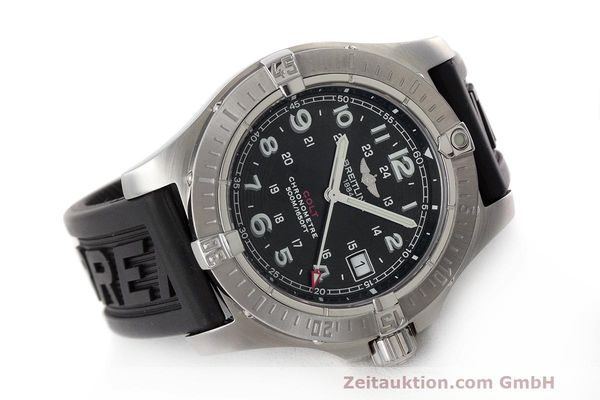 Used luxury watch Breitling Colt steel quartz Kal. B74 ETA 955.652 Ref. A74380  | 162426 03