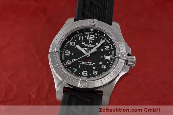 Used luxury watch Breitling Colt steel quartz Kal. B74 ETA 955.652 Ref. A74380  | 162426 04