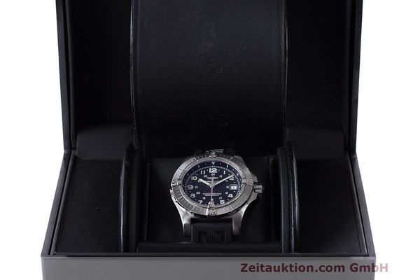 Used luxury watch Breitling Colt steel quartz Kal. B74 ETA 955.652 Ref. A74380  | 162426 07