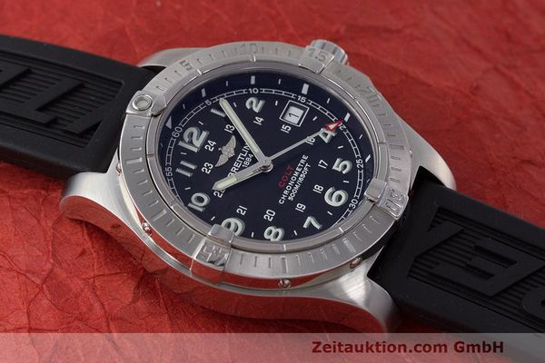 Used luxury watch Breitling Colt steel quartz Kal. B74 ETA 955.652 Ref. A74380  | 162426 17