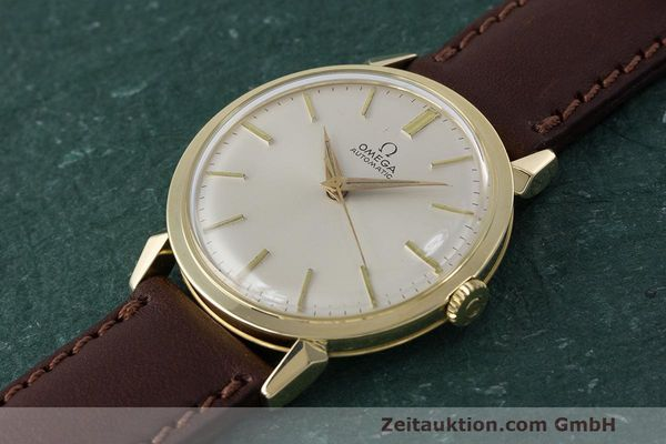 Used luxury watch Omega * 14 ct yellow gold automatic Kal. 501 Ref. 2841/2868SC VINTAGE  | 162428 01
