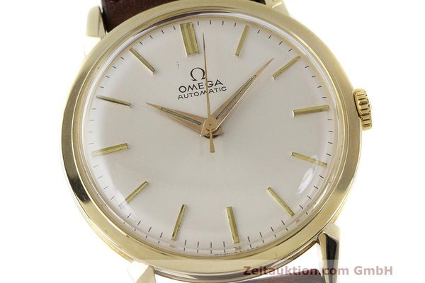 Used luxury watch Omega * 14 ct yellow gold automatic Kal. 501 Ref. 2841/2868SC VINTAGE  | 162428 02