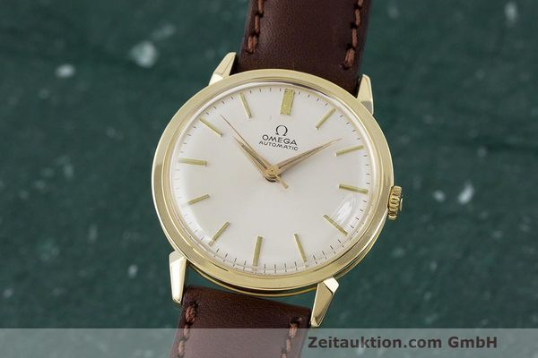 Used luxury watch Omega * 14 ct yellow gold automatic Kal. 501 Ref. 2841/2868SC VINTAGE  | 162428 04