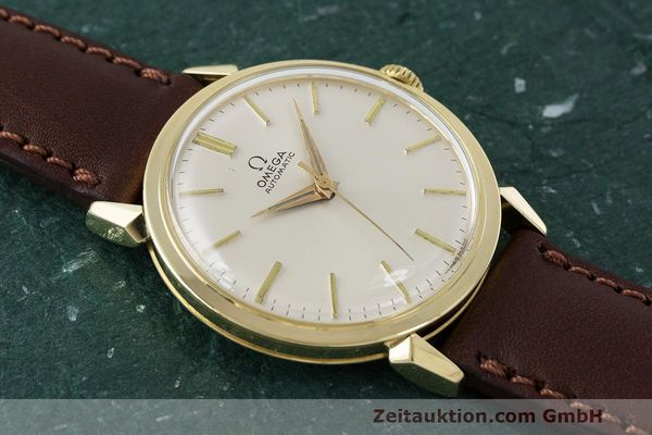 Used luxury watch Omega * 14 ct yellow gold automatic Kal. 501 Ref. 2841/2868SC VINTAGE  | 162428 13