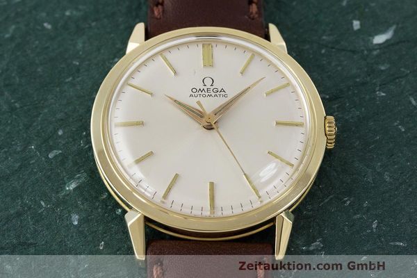 Used luxury watch Omega * 14 ct yellow gold automatic Kal. 501 Ref. 2841/2868SC VINTAGE  | 162428 14