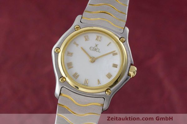 EBEL CLASSIC WAVE STEEL / GOLD QUARTZ KAL. 057 [162429]