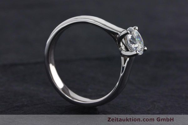 RING 950 PLATIN DIAMANT BRILLANT 1,05 CT DAMENRING DIAMOND WERT: 8370,- EURO [162435]
