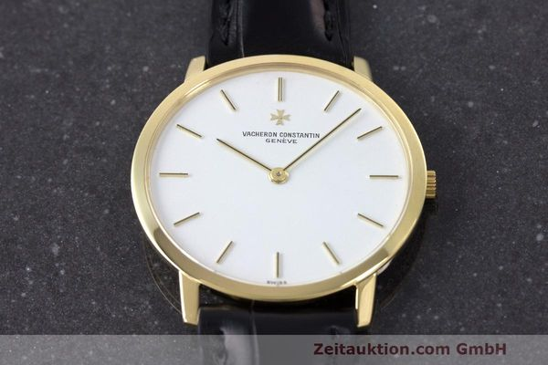Used luxury watch Vacheron & Constantin Classique 18 ct gold manual winding Kal. 1003/1 Ref. 33003  | 162438 16