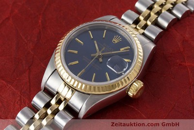 ROLEX LADY OYSTER DATEJUST GOLD / STAHL DAMENUHR AUTOMATIK 69173 VP: 6950,- EURO [162441]