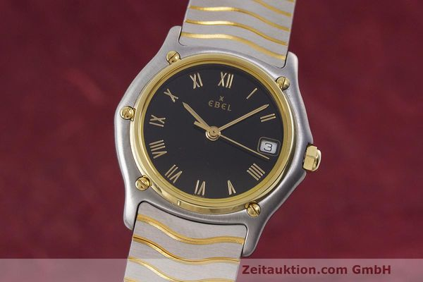 EBEL CLASSIC WAVE STEEL / GOLD QUARTZ KAL. 87 [162452]