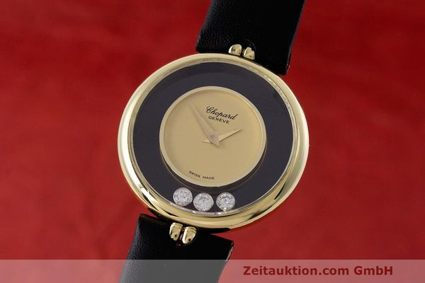 CHOPARD HAPPY DIAMONDS ORO DE 18 QUILATES CUARZO KAL. ETA 201.001 [162455]