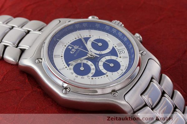 Used luxury watch Ebel Le Modulor chronograph steel automatic Kal. 137 Ref. E9137241  | 162459 13