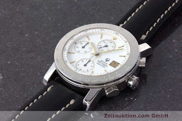 Used luxury watch Girard Perregaux 7000 chronograph steel automatic Kal. 8000-164 Ref. 7000  | 162465 01