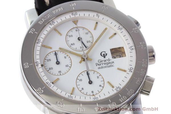 Used luxury watch Girard Perregaux 7000 chronograph steel automatic Kal. 8000-164 Ref. 7000  | 162465 02