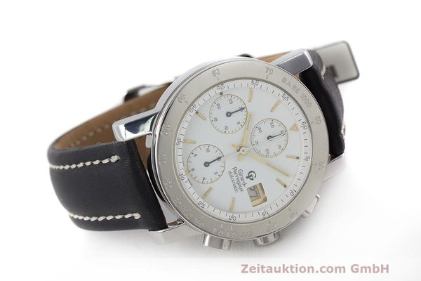 Used luxury watch Girard Perregaux 7000 chronograph steel automatic Kal. 8000-164 Ref. 7000  | 162465 03