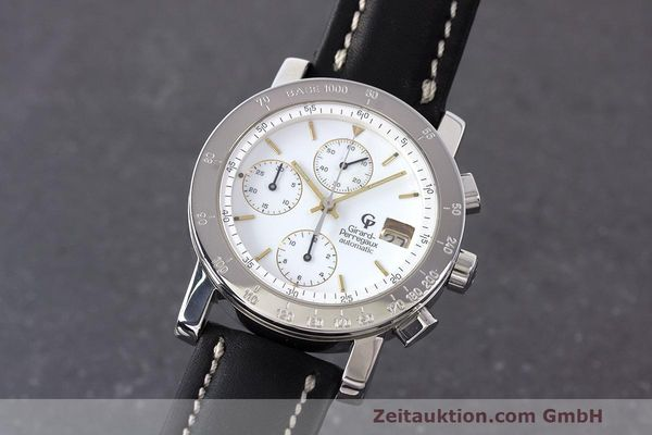 Used luxury watch Girard Perregaux 7000 chronograph steel automatic Kal. 8000-164 Ref. 7000  | 162465 04