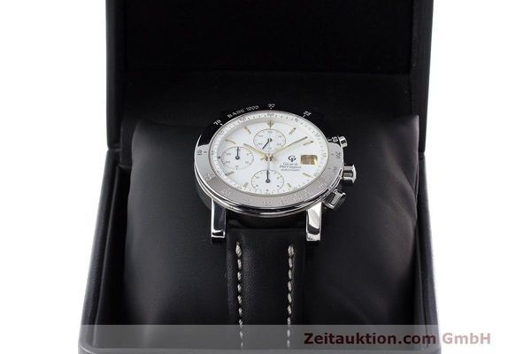 Used luxury watch Girard Perregaux 7000 chronograph steel automatic Kal. 8000-164 Ref. 7000  | 162465 07