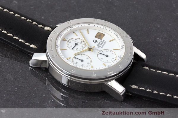 Used luxury watch Girard Perregaux 7000 chronograph steel automatic Kal. 8000-164 Ref. 7000  | 162465 12