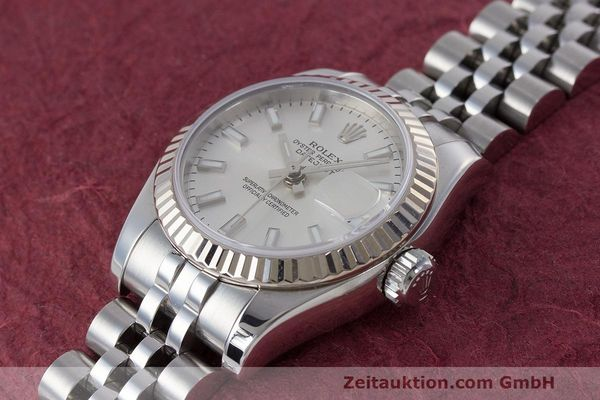 Used luxury watch Rolex Lady Datejust steel / white gold automatic Kal. 2235 Ref. 179174  | 162468 01