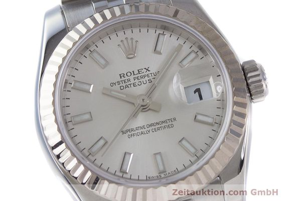 Used luxury watch Rolex Lady Datejust steel / white gold automatic Kal. 2235 Ref. 179174  | 162468 02