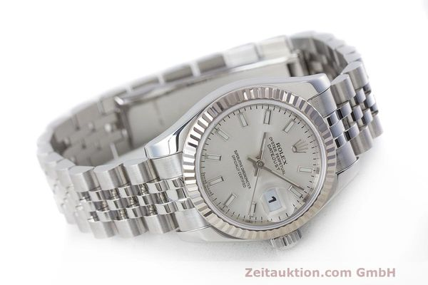 Used luxury watch Rolex Lady Datejust steel / white gold automatic Kal. 2235 Ref. 179174  | 162468 03