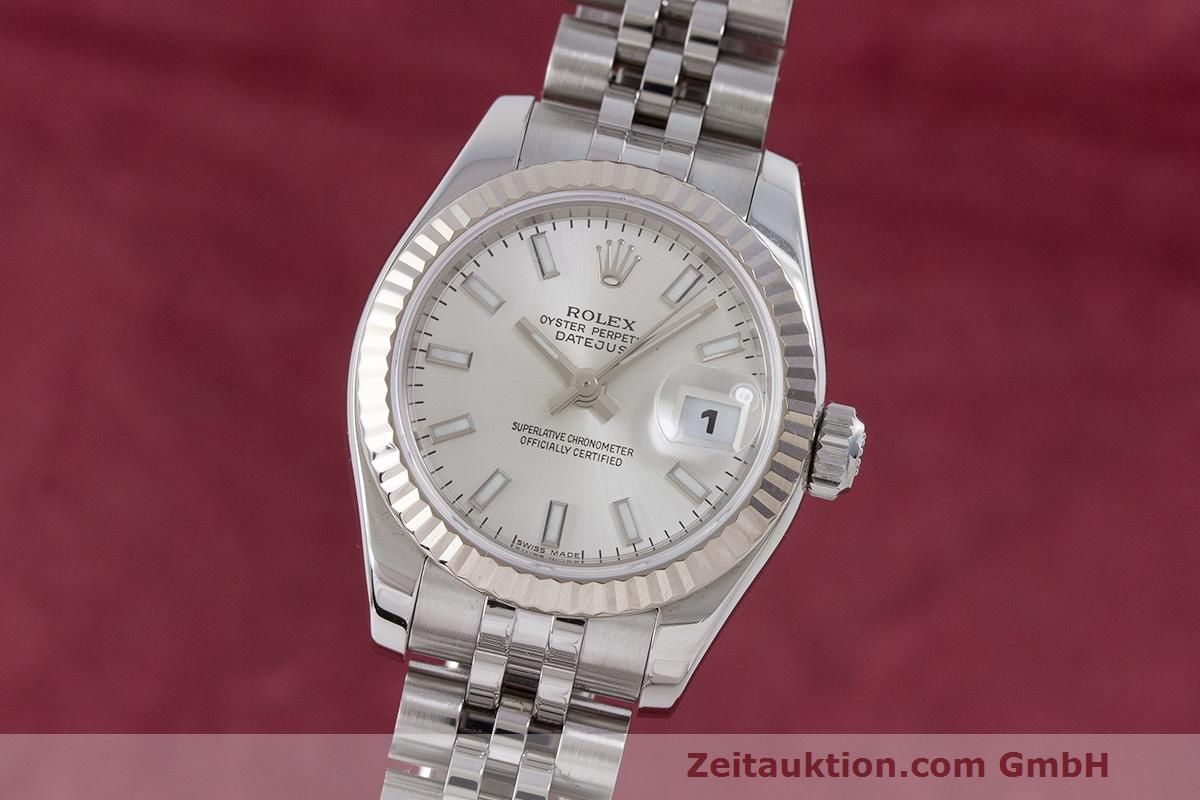 dc9ed6450afe5 Rolex Lady Datejust acier / or blanc automatique Kal. 2235 Ref. 179174 |  162468 | Zeitauktion