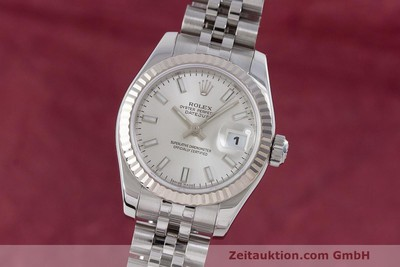 ROLEX LADY DATEJUST ACIER / OR BLANC AUTOMATIQUE KAL. 2235 LP: 6600EUR [162468]